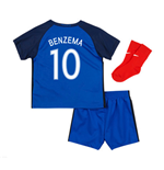 2016-17 France Home Baby Kit (Benzema 10)