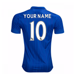 2016-17 Leicester City Home Shirt (Your Name)