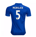 2016-17 Leicester City Home Shirt (Morgan 5)