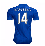 2016-17 Leicester City Home Shirt (Kapustka 14)