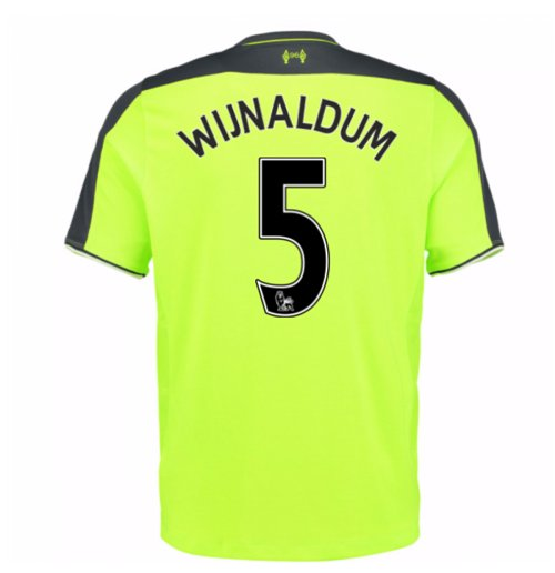 new arrival 5a081 72c76 2016-17 Liverpool 3rd Shirt (Wijnaldum 5)