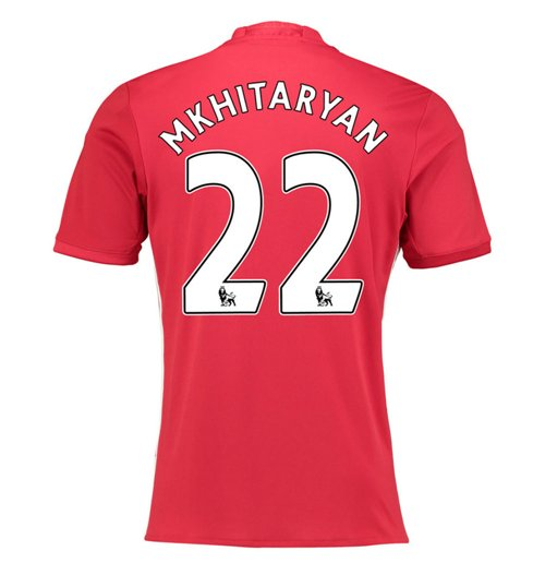 2016-17 Manchester United Home Shirt (Mhkitaryan 22)