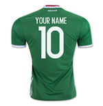 2016-17 Mexico Home Shirt (Your Name)