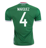 2016-17 Mexico Home Shirt (Marquez 4)
