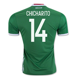 2016-17 Mexico Home Shirt (Chicharito 14)