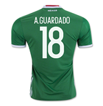 2016-17 Mexico Home Shirt (A.Guardado 18)