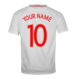 2016-17 Poland Home Shirt (Your Name)