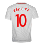 2016-17 Poland Home Shirt (Kapustka 10)