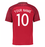 2016-17 Portugal Home Shirt (Your Name)