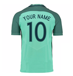 2016-17 Portugal Away Shirt (Your Name)