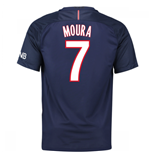 2016-17 PSG Home Shirt (Moura 7)