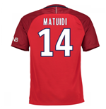 2016-17 PSG Away Shirt (Matuidi 14) - Kids