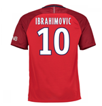 2016-17 PSG Away Shirt (Ibrahimovic 10) - Kids