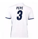 2016-17 Real Madrid Home Shirt (Pepe 3) - Kids