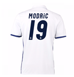 2016-17 Real Madrid Home Shirt (Modric 19) - Kids