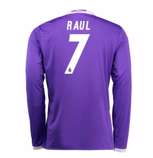 new product 4e5bc 5562b 2016-17 Real Madrid Away Shirt (Raul 7)