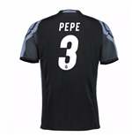 2016-17 Real Madrid 3rd Shirt (Pepe 3) - Kids