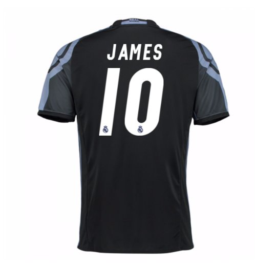 2016-17 Real Madrid 3rd Shirt (James 10) - Kids