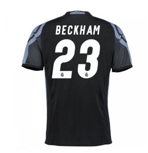 2016-17 Real Madrid 3rd Shirt (Beckham 23) - Kids