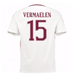 2016-17 Roma Away Shirt (Vermaelen 15) - Kids