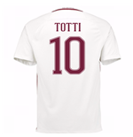 2016-17 Roma Away Shirt (Totti 10) - Kids