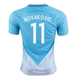 2016-17 Slovenia Home Shirt (Novakovic 11)