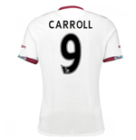 2016-17 West Ham Away Shirt (Carroll 9) - Kids
