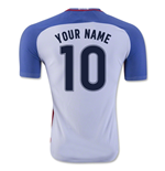2016-17 USA Home Shirt (Your Name)