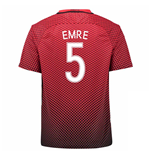 2016-17 Turkey Home Shirt (Emre 5)