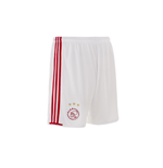 2016-2017 Ajax Adidas Home Shorts (White)