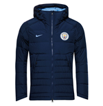 2016-2017 Man City Nike Core Down Jacket (Navy)