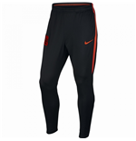 2016-2017 Man City Nike Squad Training Pants (Black-Orange)