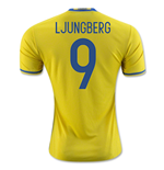 2016-2017 Sweden Home Adidas Shirt (Ljungberg 9) - Kids