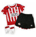 2016-2017 PSV Eindhoven Home Little Boys Mini Kit