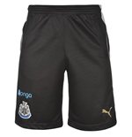 2016-2017 Newcastle Puma Training Shorts (Black)