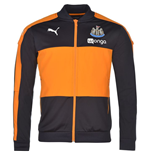2016-2017 Newcastle Puma Stadium Jacket (Navy)