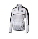 2016-2017 Newcastle Puma Quarter Zip Training Top (White)