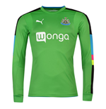 2016-2017 Newcastle Home Goalkeeper Shirt (Green)