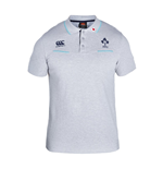 2016-2017 Ireland Rugby Cotton Training Polo Shirt (Classic Marl)