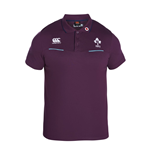 2016-2017 Ireland Rugby Cotton Training Polo Shirt (Irish Plum)