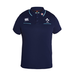 2016-2017 Ireland Rugby Cotton Training Polo Shirt (Peacot)