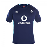 2016-2017 Ireland Rugby Superlight Poly Training Tee (Peacot)
