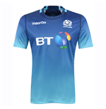 2016-2017 Scotland Macron Rugby Training Jersey (Turquoise)