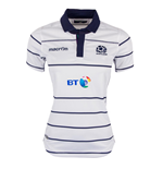 2016-2017 Scotland Macron Alternate Womens Poly Rugby Shirt