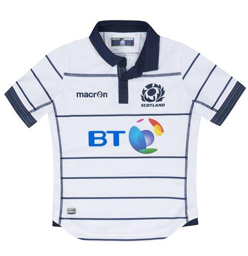 on sale b1d48 dcd27 2016-2017 Scotland Away Replica Rugby Shirt (Kids)