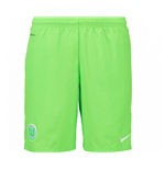 2016-2017 VFL Wolfsburg Nike Away Shorts (Green)
