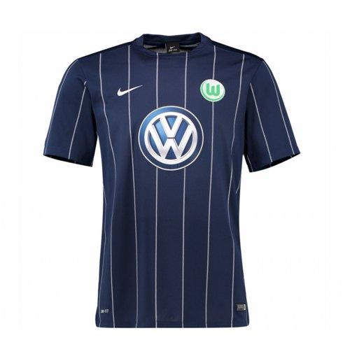 online store 878d7 b76a9 2016-2017 VFL Wolfsburg Third Nike Shirt (Kids)