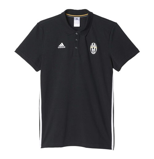 ca4fabda9 Buy Official 2016-2017 Juventus Adidas 3S Polo Shirt (Black)