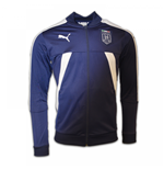 2017 Italy Puma Stadium Jacket (Peacot)
