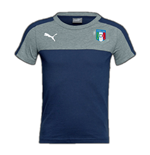 Italy 2006 Tribute Badge Tee (Peacot-Grey)